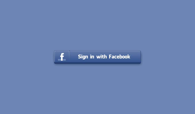 Sign In Facebook Button