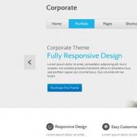Organized WP WordPress Corporate Website