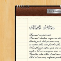 Notebook PSD Graphic