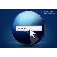 Web Search Icon, Vector Shape (PSD)