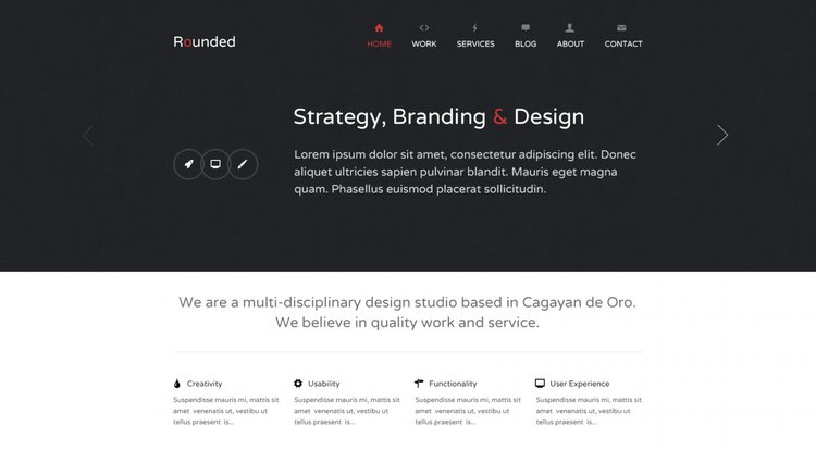 Rounded Free Minimal PSD Template