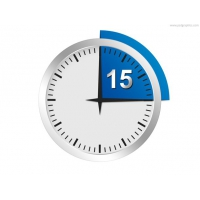 Minutes Or Seconds Timer PSD Template