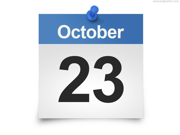 Daily Calendar PSD Template