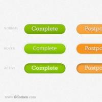 Process Status PSD Buttons