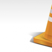 PSD Orange Traffic Cone