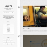 Layerx Blogger Free Website Theme PSD Template