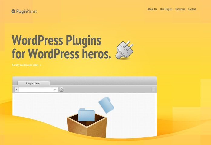 Plugin Planet Free PSD Template