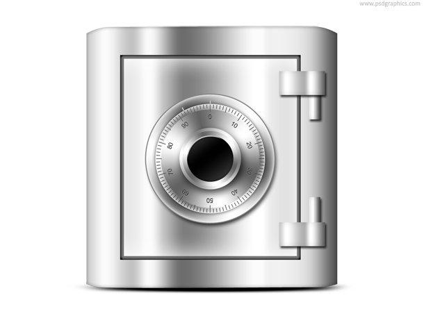 Safe Icon (PSD)