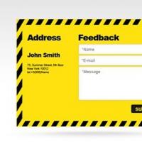 Free PSD Feedback Form