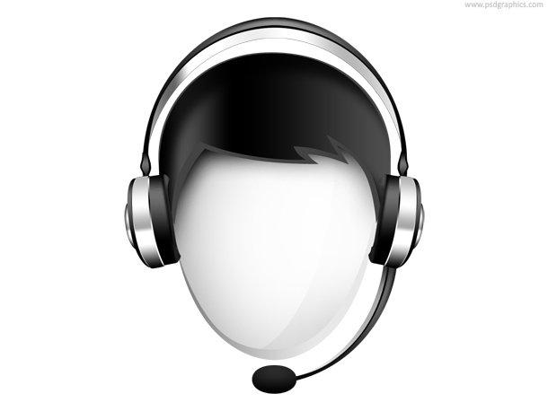 Customer Service Icon (PSD)
