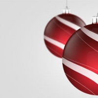 Holiday Decorations PSD Graphics
