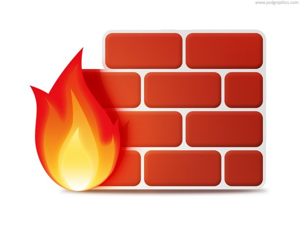 Firewall Icon (PSD)