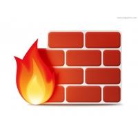 Firewall Icon (PSD)