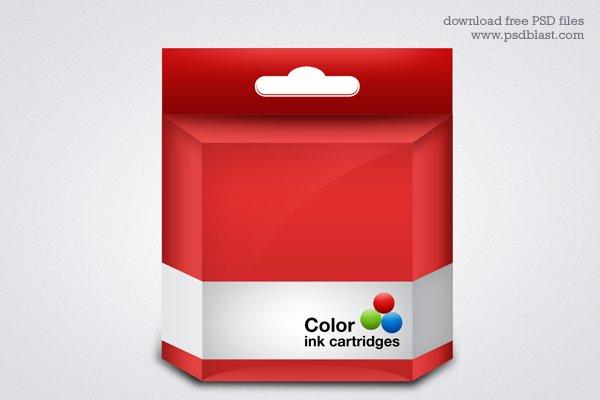 Vector Ink Cartridge Template