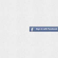 Facebook & Twitter Sign-in Buttons (PSD)
