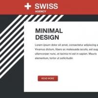 Swiss Agency Free PSD Template