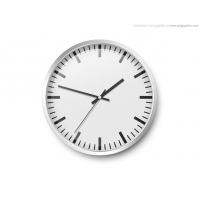 Wall Clock Template