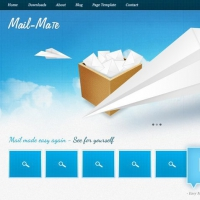 Mail Mate Free PSD Template