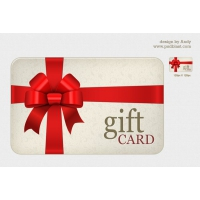 High Resolution Gift Card PSD
