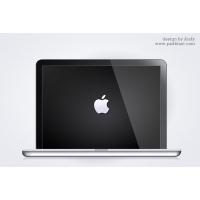 Glossy Mac Book PSD