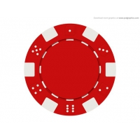 Gambling Chip Icon (PSD)