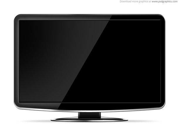 LCD HD TV Ttemplate