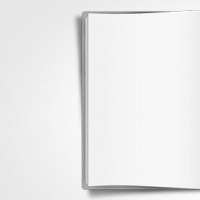 Opened Book PSD Graphic