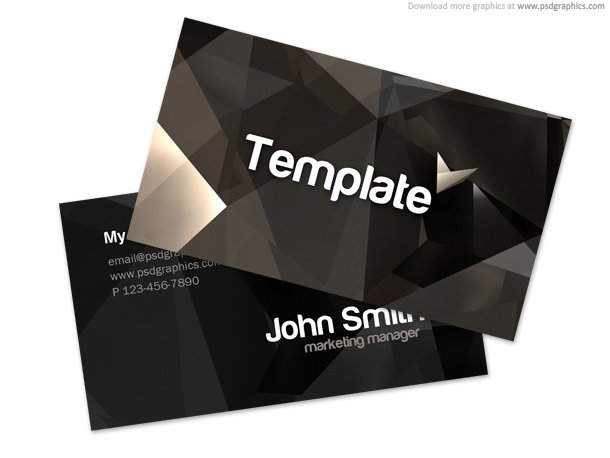 Stylish Business Card Template (PSD)