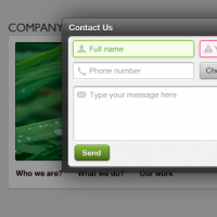 Pop-up Contact Form