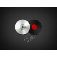 CD & Vinyl Record Icons