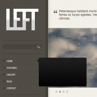 Left Free PSD Template
