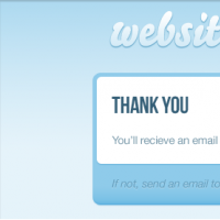 Modal Pop-up Box PSD