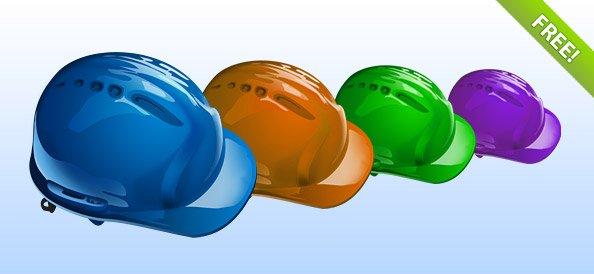 PSD Helmet Icon