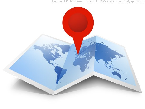 PSD World MapIcon