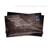 Brown Retro Business Card