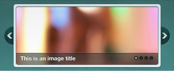 Image Slider Interface