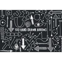 100 HAND DRAWN ARROWS