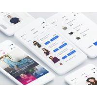 F FASHION APP UI KIT