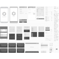 ANDROID VECTOR WIREFRAMING TOOLKIT