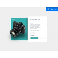 PRODUCT CARD UI DESIGN