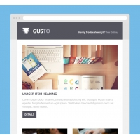 GUSTO EMAIL PSD TEMPLATE