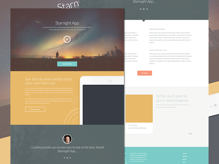 STARNIGHT HTML5/CSS3 TEMPLATE