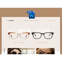 EYEWEAR E-COMMERCE TEMPLATE