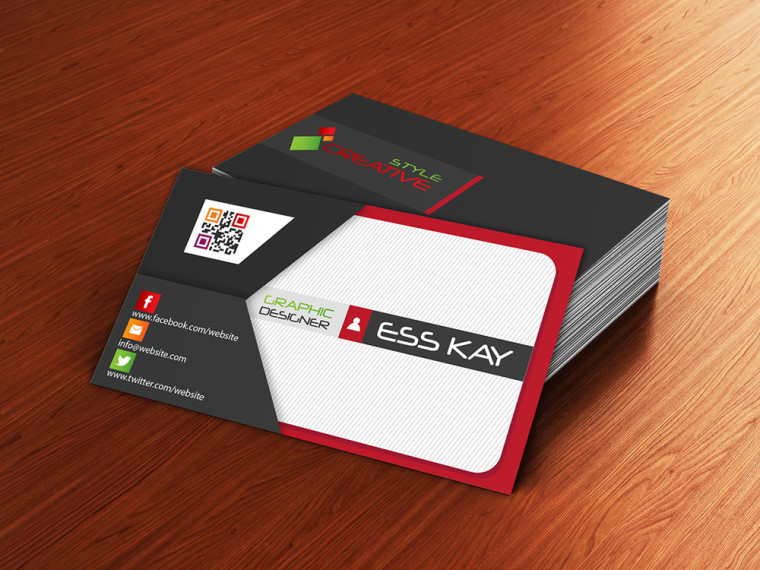 ENVELOPE STYLE BUSINESS CARD