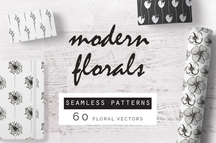 MODERN FLORAL PATTERNS COLLECTION