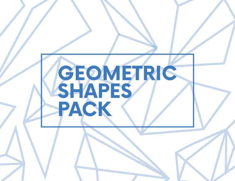 6 FREE GEOMETRIC SHAPES