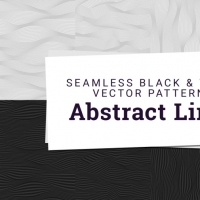 ABSTRACT LINE PATTERNS FREEBIE