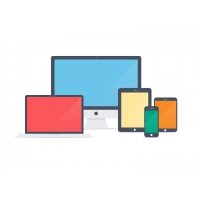 FLAT APPLE DEVICE ICONS