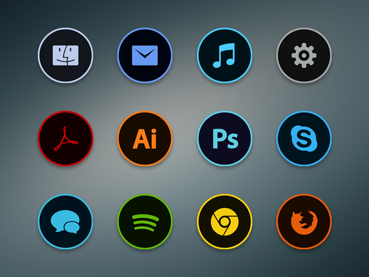 CIRCLA DOCK ICONS