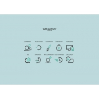 WEBAGENCY ICON SET